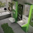 Des salles de bains pour les ados