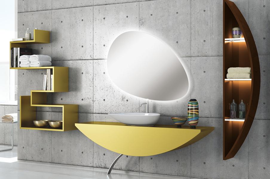 Salle de bains sixties : Nova Linea