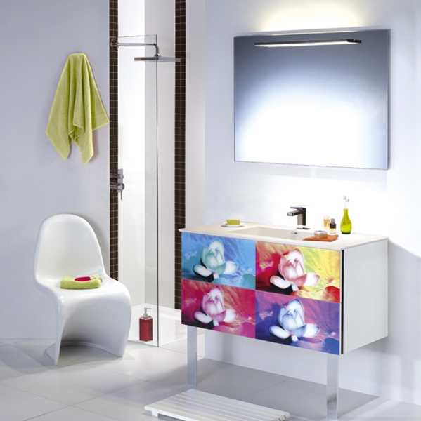 Salle de bains sixties : Lido