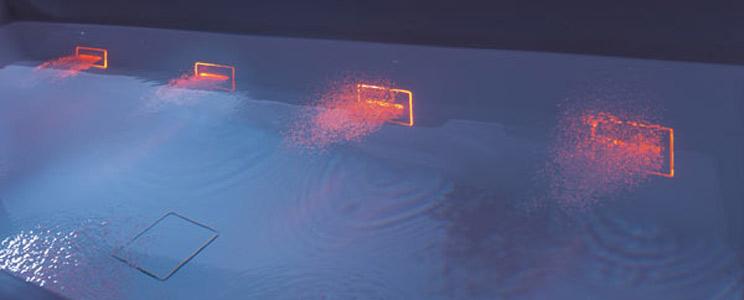 Baignoire avec système Hydroline de Teuco