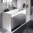 Des meubles vasque de petite profondeur
