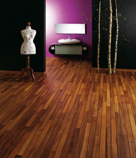 Parquet salle de bains Navylam chez Design Parquet