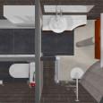 Conseils de pro : WC séparé et dressing dans une salle de bains de 6 m2